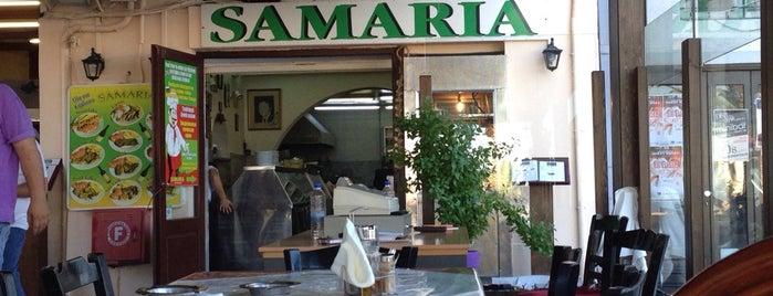 Samaria Restaurant is one of Crete.