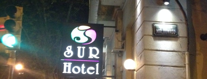 Sur Hotel is one of ARG-URU '13.