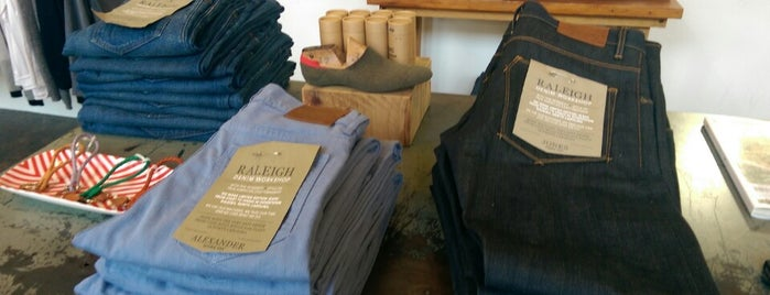 Raleigh Denim is one of North Carolina To-Do.