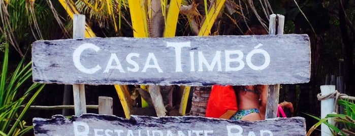 Casa Timbó is one of Trancoso relax.