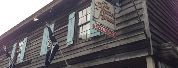 The Pirates' House is one of Restaurants.