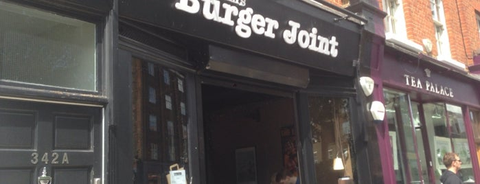 Tommi's Burger Joint is one of Burger London.