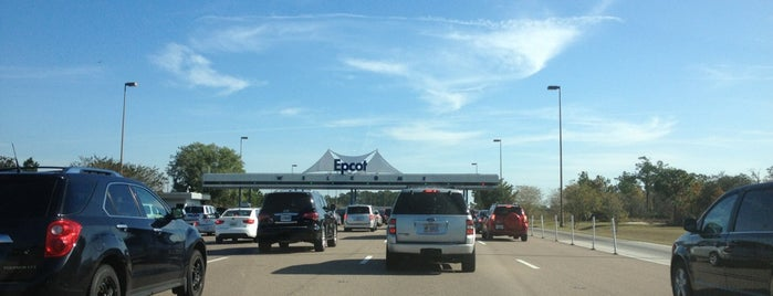 Epcot Parking Lot is one of Walt Disney World - Epcot.