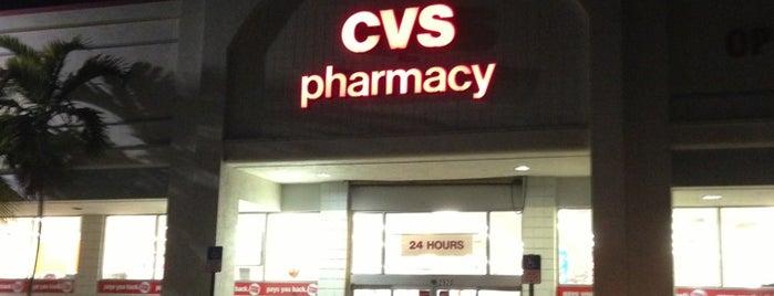 CVS/pharmacy is one of market.