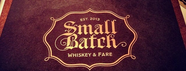 Small Batch is one of St. Louis.