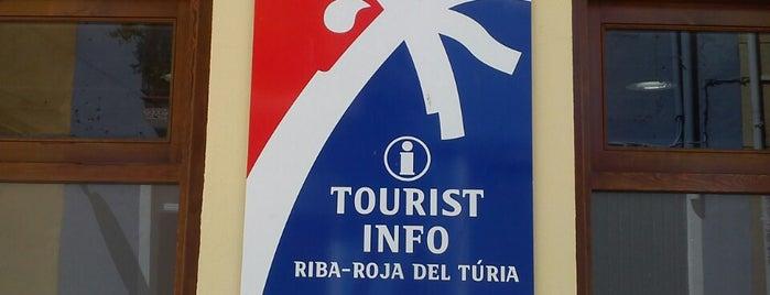 Tourist Info Riba-roja de Túria is one of Oficinas de turismo.