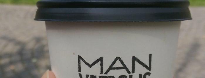Man versus Machine Coffee Roasters is one of Don't do Starbucks et al.!.
