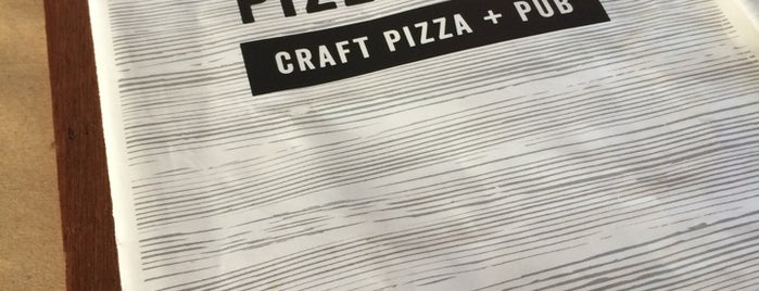 Pizzology Craft Pizza + Pub is one of Places to eat in Indy.