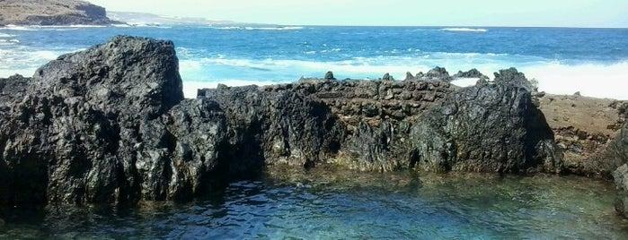 Piscinas Naturales El Caletón is one of Islas Canarias: Tenerife.