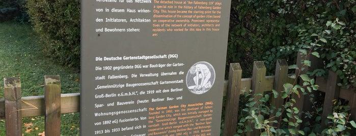 Gartenstadt Falkenberg is one of Grün und Blau Berlin.
