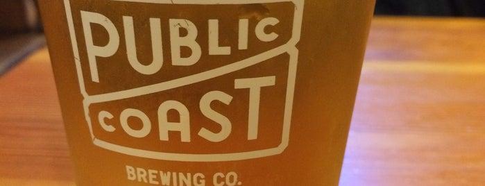 Public Coast Brewing Company is one of Go Coastal.