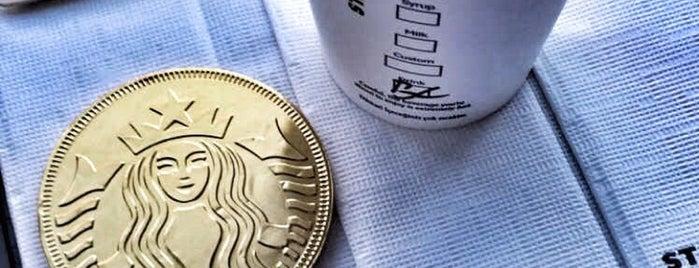 Starbucks is one of SANDRO.