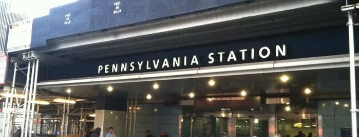 New York Penn Station is one of Places I have been to.