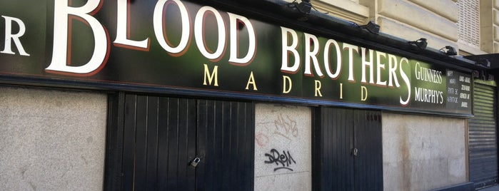 Blood Brothers Madrid is one of Madrid cañas y tal.