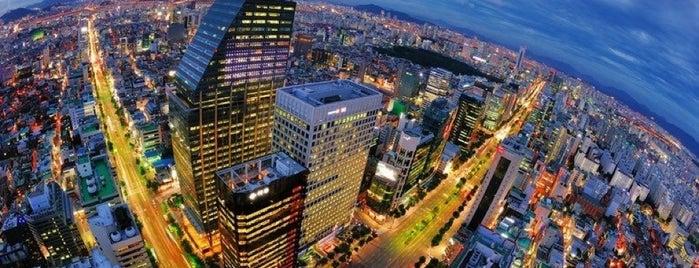 Gangnam Finance Center is one of Hani.