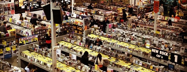 Amoeba Music is one of Let's Get Lost.