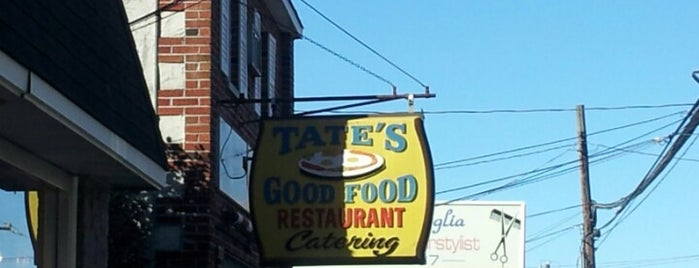 Tate's Good Food is one of Places to go.