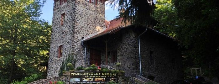 Templomvölgy Resort is one of countryside • hungary • sleep.