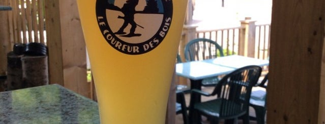 Microbrasserie Le Coureur Des Bois is one of Microbrasseries Québec.