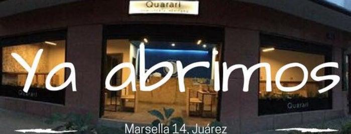 Quarari Xocolatería Mexicana is one of Lo mejor en Col. Juárez CDMX.