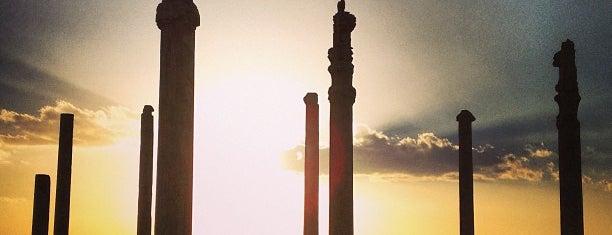 Persepolis is one of Shiraz Attractions | جاذبههای شیراز.