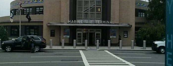 Marine Air Terminal (Terminal A) is one of Airports and hotels I have known.