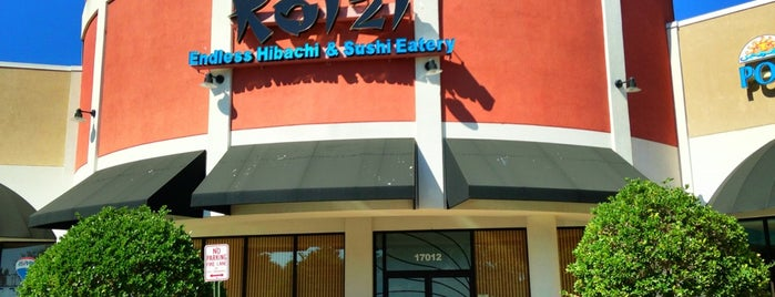 Koizi Endless Hibachi & Sushi Eatery is one of The 15 Best Places for a Crab in Tampa.