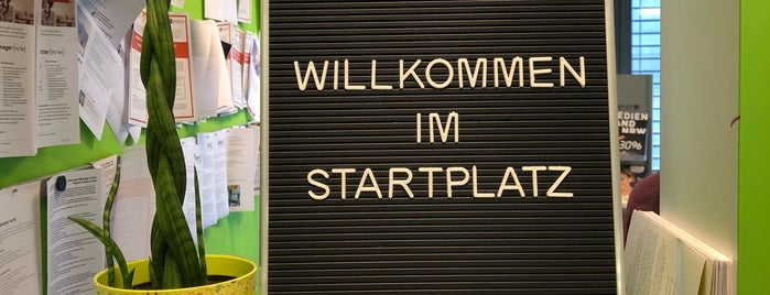 Startplatz is one of Coworking in Cologne.