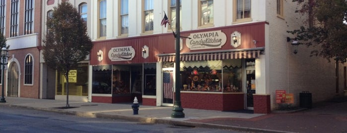 Olympia Candy Kitchen is one of Guide to Chambersburg's best spots.