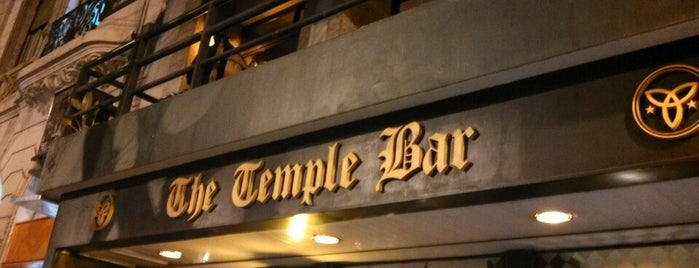 The Temple Bar is one of Bares.