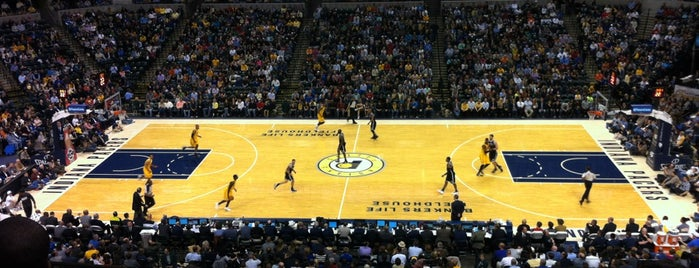 Bankers Life Fieldhouse is one of 300 Days of Indy.
