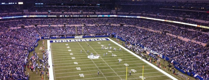 Lucas Oil Stadium is one of 300 Days of Indy.
