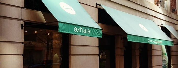 Exhale Back Bay is one of TNGG Recommends.