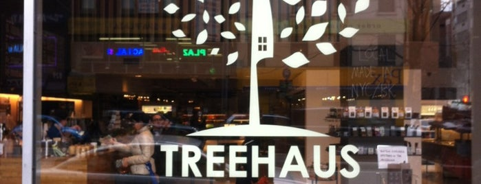 TreeHaus is one of Best coffee shops for meetings and laptop work.