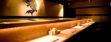 Sushi Azabu is one of NYC Restaurants: To Go Pt. 2.
