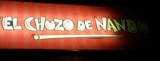 El chuzo de Nando is one of Lista jhoncito.