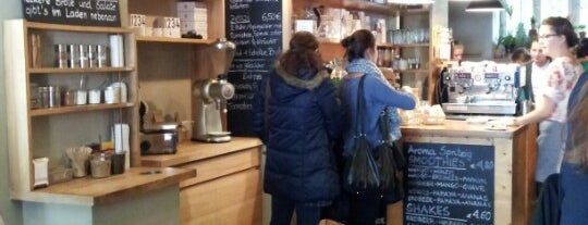 Aroma Kaffeebar is one of Foursquare Best of München: Cafés.