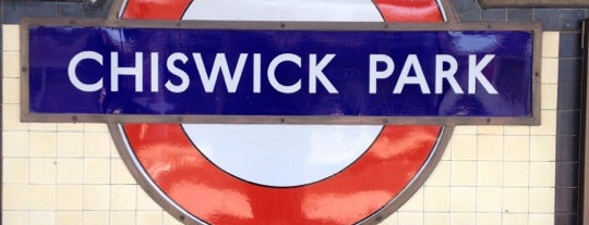 Chiswick Park London Underground Station is one of District Line.