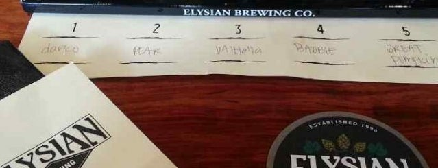Elysian Brewing Company is one of Places I Love in Seattle.