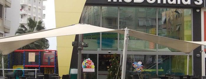 McDonald's is one of Cocuklu mekanlar.