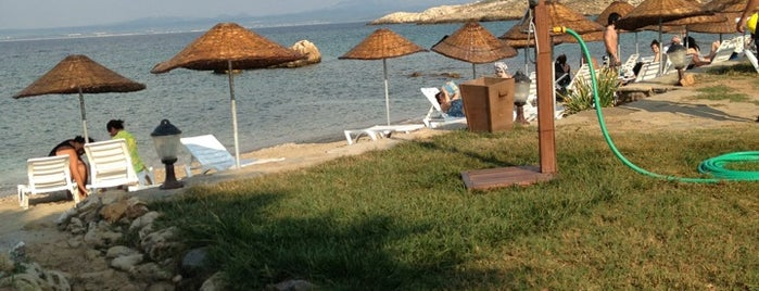 Ataol Beach is one of doğallık..