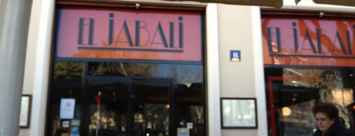 El Jabalí is one of Patatas Bravas de Barcelona.