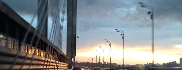 Pivdennyi Bridge is one of Мости України.