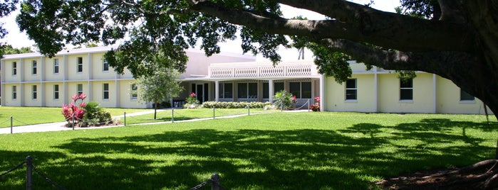 Lynn University Freiburger Residence Hall is one of Lynn Campus.