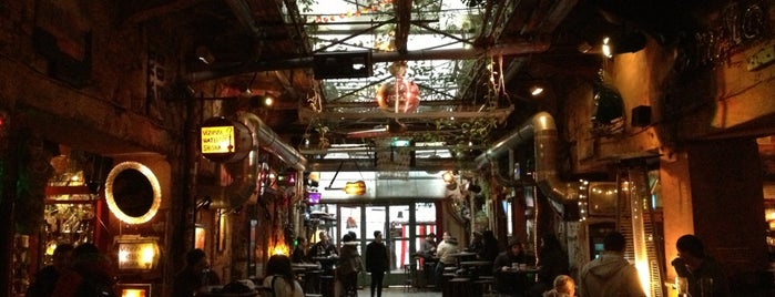 Szimpla Kert is one of Budapest Favorites.