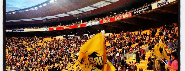 Westpac Stadium is one of Been there.