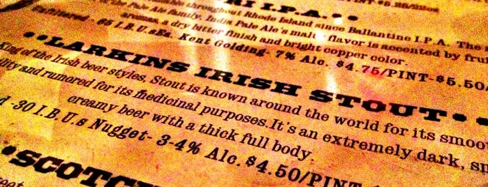 Trinity Brewhouse is one of Providence, RI.