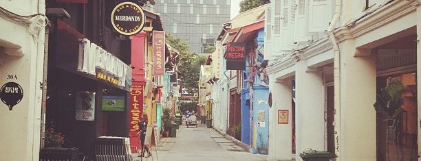 Haji Lane is one of Singapore.