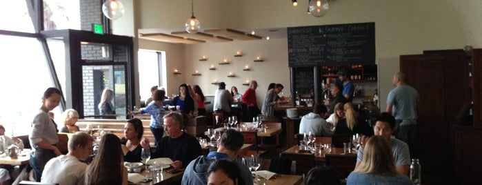 Rustic Canyon Wine Bar is one of The Westside's best food.