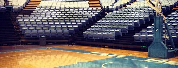 Dean E. Smith Center is one of Sports Venues I've Worked At.